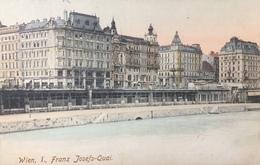 AUSTRIA, OSTERREICH, Wien..Vienna......Franz Josefs Quai....1908 - Altri