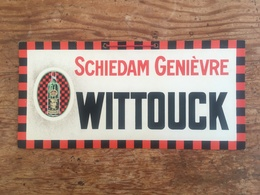 Schiedam - Genièvre - Jenever - Stokerij - Distillerie - Wittouck - Letreros