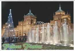 PLAZA DE ZORRILLA. VALLADOLID. 3 TARJETAS  PREFRANQUEADAS ESPAÑA. TARIFAS A-B-C. ENTERO POSTAL. Postcard Paid Postage. - Enteros Postales