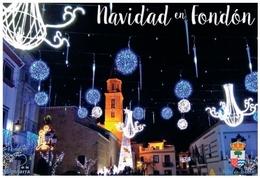 NAVIDAD EN FONDÓN (ALMERÍA).TARJETA  PREFRANQUEADA ESPAÑA. TARIFA A. ENTERO POSTAL. Postcard Paid Postage. - Entiers Postaux