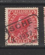 COB 403 Oblitération Télégraphe TEMSCHE - 1934-1935 Léopold III