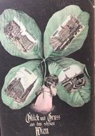 AUSTRIA, OSTERREICH, Wien..Vienna.......Gluck Und Gruss Aus Dem Schonen Wien...1906 - Altri