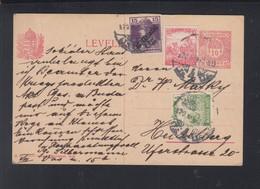 Hungary PC 1920 To Heidelberg - Ungarn