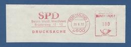 BRD AFS - DORTMUND, SPD Bezirk Westl. Westfalen 1993 - Other