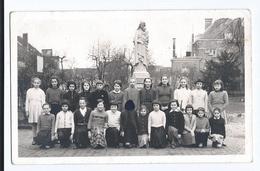 Etterbeek  Ecole St Joseph  Liste Des élèves Au Verso Carte Photo - Etterbeek