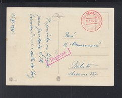 CSR PK 1945 Sonderstempel 1945 Nachporto - Briefe U. Dokumente