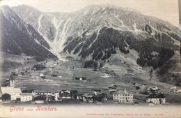 SWITZERLAND, SVIZZERA,  Gruss Aus Klosters, Graubunden - SG St. Gall