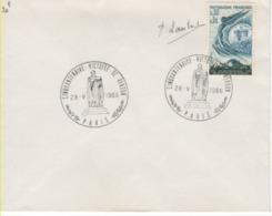 FRANCE-Premier Jour D'émission Cinquantenaire Victoire De Verdun-cachet De Paris Du 28.05.66 - Documents Of Postal Services