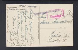 CSR AK 1945 Neuhaus Nachgebühr - Briefe U. Dokumente