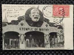 Etats-Unis - Lousiana Purchase Exposition, St Saint Louis, 1904. Temple Of Mirth On The Pike - Etats-Unis
