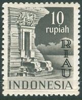 INDONESIA INDONESIË RIAU 1954  ZBL 21 OVERPRINTED MNH ** POSTFRIS NEUF - Indonesia