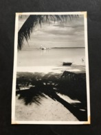 Escale Croiseur Jeanne D'arc Polynésie 1955/1956 Hydroglisseur Tahiti Papeete - Luoghi