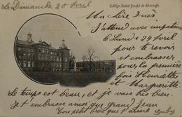 Marneffe (Burdinne)  College Saint Joseph Ca 1900 Rare - Burdinne