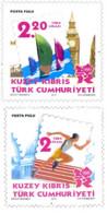 Ref. 283835 * NEW *  - CYPRUS. Turkish Adm. . 2012. 30 SUMMER OLYMPIC GAMES LONDON 2012. 30 JUEGOS OLIMPICOS DE VERANO - Ongebruikt