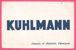 BUVARD Illustré - BLOTTING PAPER - KUHLMANN - Engrais Et Produits Chimiques - Buvards, Protège-cahiers Illustrés