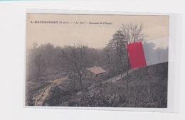 MAURECOURT 78 LE VAL DESCENTE DE L'HAUTIL - Maurecourt