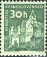 Ref. 200190 * HINGED *  - CZECHOSLOVAKIA . 1961. CASTLES. CASTILLOS - Czechoslovakia