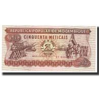 Billet, Mozambique, 50 Meticais, 1983, 1983-06-16, KM:129a, SPL - Mozambique