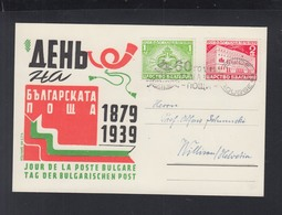 Bulgaria Commemorative PC 1939 - 1909-45 Königreich