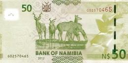 NAMIBIA P. 13a 50 D 2012 UNC - Namibie