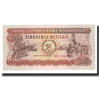 Billet, Mozambique, 50 Meticais, 1980, 1980-06-16, KM:125, SPL - Mozambique