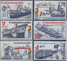 Ref. 304553 * NEW *  - CZECHOSLOVAKIA . 1989. CZECHOSLOVAK CARGO VESSELS. CARGEROS CHECOSLOVACOS - Checoslovaquia