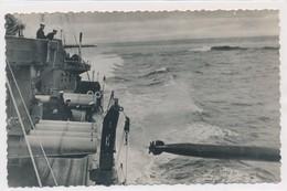 CPSM Lancement D'une Torpille D'un Navire Anglais - Manoeuvres