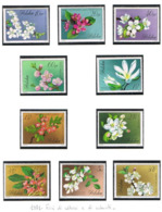POLONIA (POLAND) - SG 2117.2126 - 1971 FLOWERS OF TREES & SHRUBS  (COMPLET SET OF 10)   - MINT** - RIF. CP - 1944-.... Repubblica