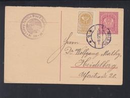 Österreich GSK Mit ZuF 1920 Wien Nach Heidelberg - 1918-1945 1. Republik