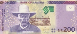 NAMIBIA P. 15b 200 D 2015 UNC - Namibia