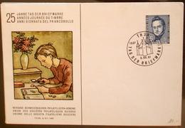 """Schweiz Suisse Pro Juventute 1961: """"Jonas Furrer"""" Zu 188 Mi 742 Yv 684 Mit O THUN 3.XII.61 TAG DER BRIEFMARKE - Dag Van De Postzegel"""