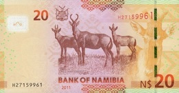 NAMIBIA P. 12a 20 D 2011 UNC - Namibië