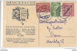 55 - 29 - Entier Postal Envoyé De Hadersdorf En Suisse - Stamped Stationery