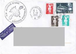 P.H Jeanne D'Arc - Campagne 1995 - 1996. Agence Postale - Poste Navale