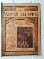 LE MONDE ILLUSTRE - ANNEE 1901 / Miramar De Majorque / Faculté De Médecine / 1801 1901 Le Début De Deux Siècles - 1900 - 1949