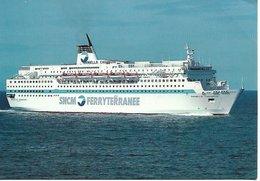 L20K022 - SNCM - Ferryterranée - Paquebot Danielle Casanova- - Dampfer