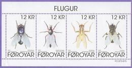 Faroe Islands 2018. Fauna. Insects. Flies. MNH - Faeroër
