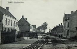 Photo : Esen, Eessen, Roeselarestraat, 2 Scans, Foto Van Oude Postkaart - Places