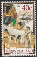 New Zealand 1998 MNH Sc 1492 40c The Maori - Unused Stamps