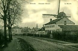Photo : Esen, Eessen, Dixmude, Diksmuide, Moulin, Molen, 2 Scans, Foto Van Oude Postkaart - Lieux