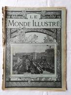 LE MONDE ILLUSTRE - ANNEE 1901 / Pélerins Russes / Entrepôt De Bercy / Miramar De Majorque / Pêche D'Arguin - 1900 - 1949