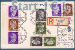 Allemagne Carte Postale SCHORNDORF (WURTT)  Départ 1€ ! ( Action18avril ) - Briefe U. Dokumente