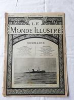 LE MONDE ILLUSTRE - ANNEE 1901 / Echouement De La Russia à Faraman / Papa Fane / Miramar De Majorque - Livres, BD, Revues