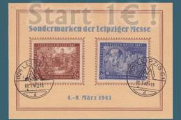 Allemagne Leipziger Messe 1947 Départ 1€ ! ( Action18avril ) - [6] République Démocratique