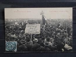 Z32 - 34 - Manifestation Viticole à Beziers - Avant Le Départ Au Champ De Mars - Edition Pons - 1907 - Beziers