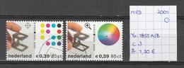 Nederland 2001 - Yv. 1855A/B Gestempeld/oblitéré/used - Used Stamps