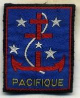écusson, Troupe Du Pacifique - Blazoenen (textiel)