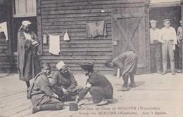Les Jeux Au Camp De Munster Soldats Africains - Guerra 1914-18
