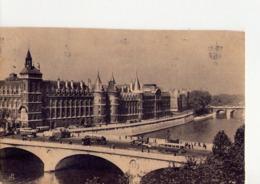 CPA - 75 - 86 -  PARIS  -  LA CITE - PALAIS DE JUSTICE ET CONCIERGERIE - - Autres Monuments, édifices