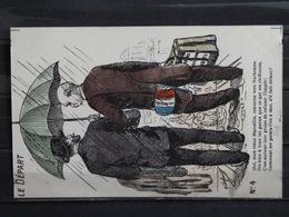 Z32 - Manifestation Viticole Du Midi 1907 - Marcellin Albert - Edition Laclau à Toulouse - Illustrateur Humoristique No4 - Vignes